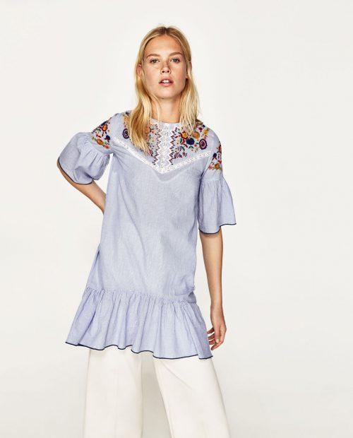 ριγε-κεντημένο φόρεμα-29,95