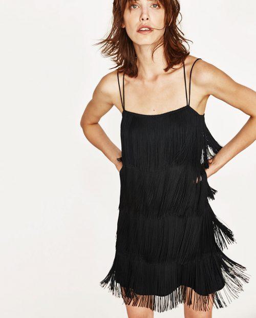 σατεν-φόρεμα με κρόσια-29 a2dd2d38aaf