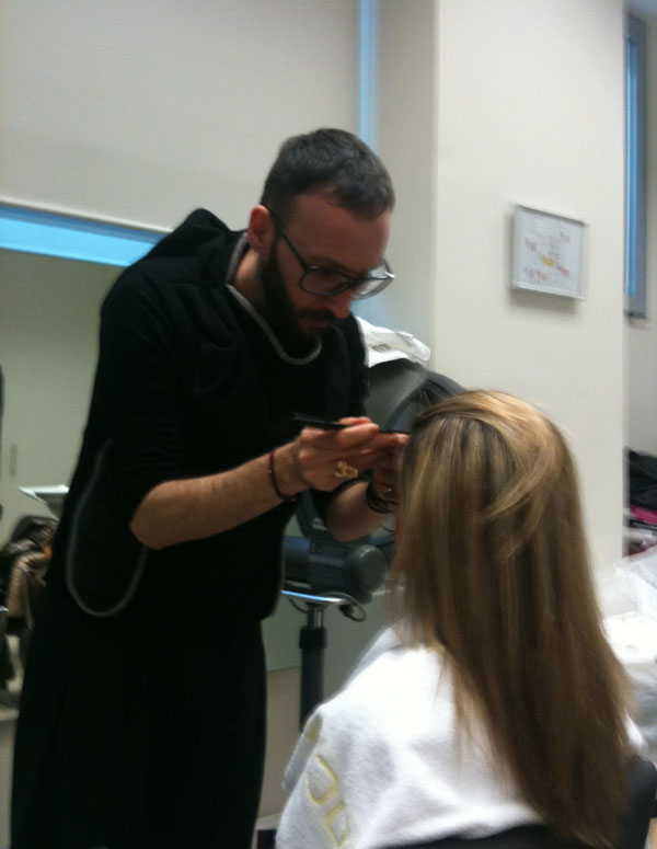 guestpost  23 Η τεχνική Ombre Hair, η Ελένη, ο Νικόλας και η Garnier.