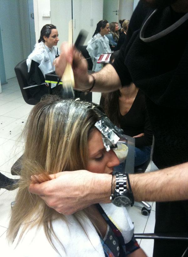 guestpost  32 Η τεχνική Ombre Hair, η Ελένη, ο Νικόλας και η Garnier.
