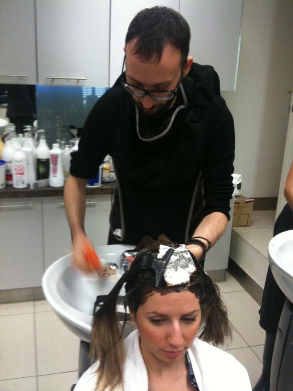 guestpost  5 Η τεχνική Ombre Hair, η Ελένη, ο Νικόλας και η Garnier.