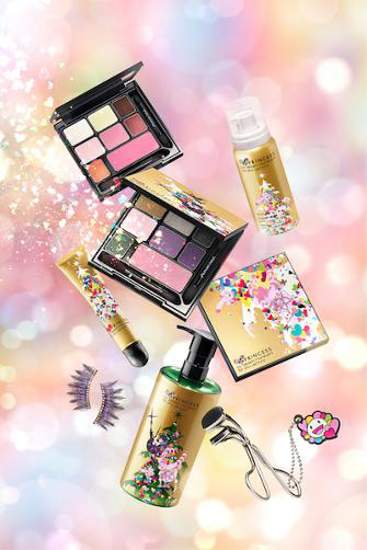 Shu-Uemura-Takashi-Murakami-Holiday-2013-Six-Heart-Princesses-Collection