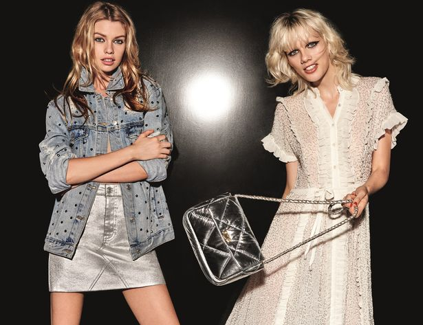 Stella-Maxwell-and-MARJAN-JONKMAN-for-Topshop-Christmas-campaign