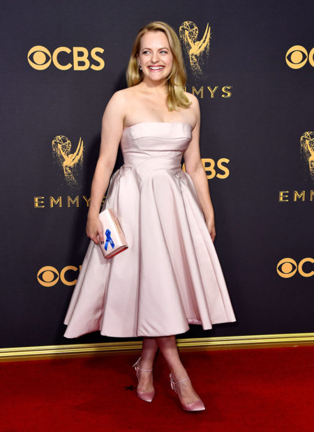 LOS ANGELES, CA - SEPTEMBER 17: Actor Elisabeth Moss attends the 69th Annual Primetime Emmy Awards at Microsoft Theater on September 17, 2017 in Los Angeles, California. (Photo by Frazer Harrison/Getty Images)