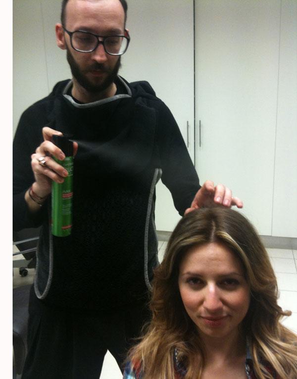 guestpost  pinelia Η τεχνική Ombre Hair, η Ελένη, ο Νικόλας και η Garnier.