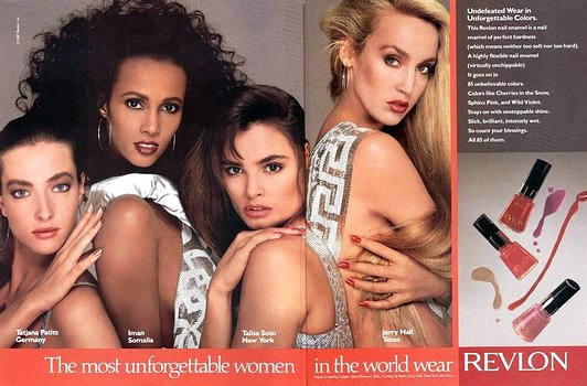 revlon-super models 90's
