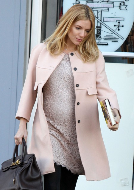 """Sienna Miller On The Set Of """"A Case Of You"""""""