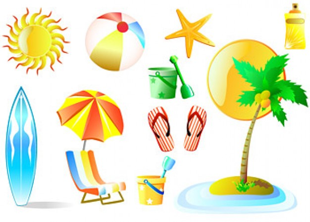 summer-beach-leisure-products-vector-material_15-3235