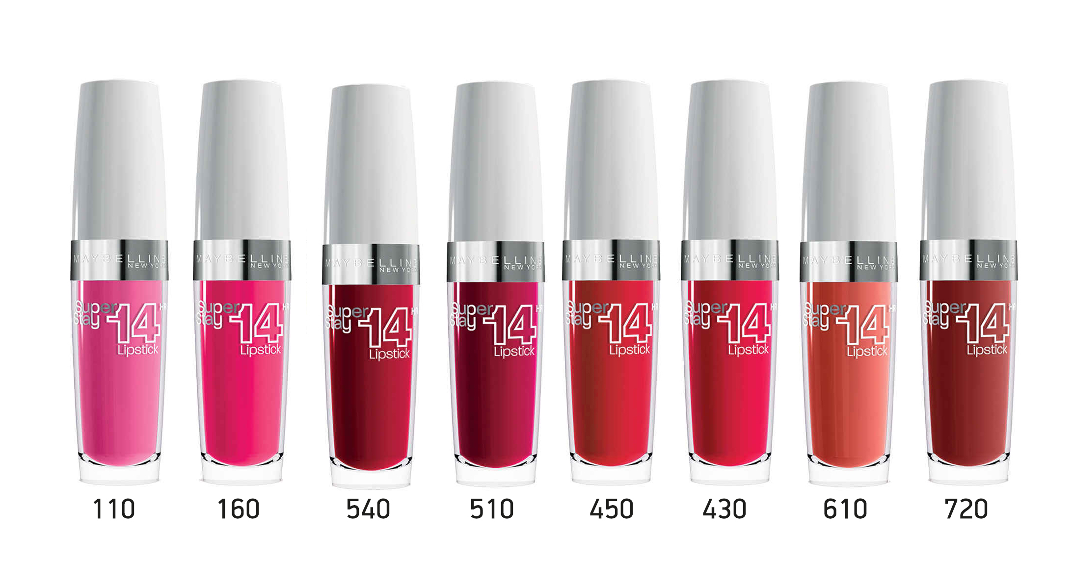 superstay 14 shades