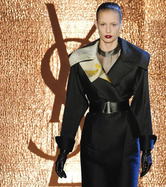 trench coat-YSL