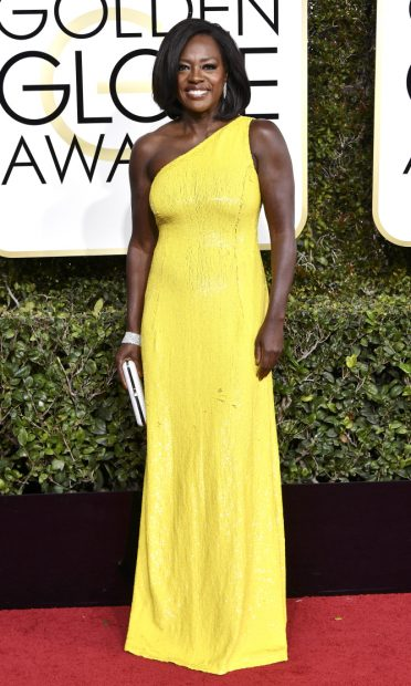 Mandatory Credit: Photo by Rob Latour/REX/Shutterstock (7734777gx) Viola Davis 74th Annual Golden Globe Awards, Arrivals, Los Angeles, USA - 08 Jan 2017