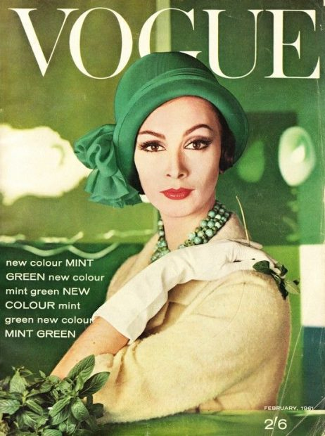 vogue-1961-mint-green