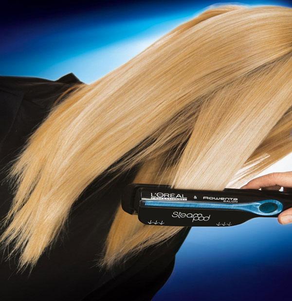 Steampod  Το νέο σύστημα ισιώματος μαλλιών με ατμό! d37c0902465
